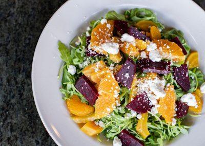 Roasted Beets and Orange Salad